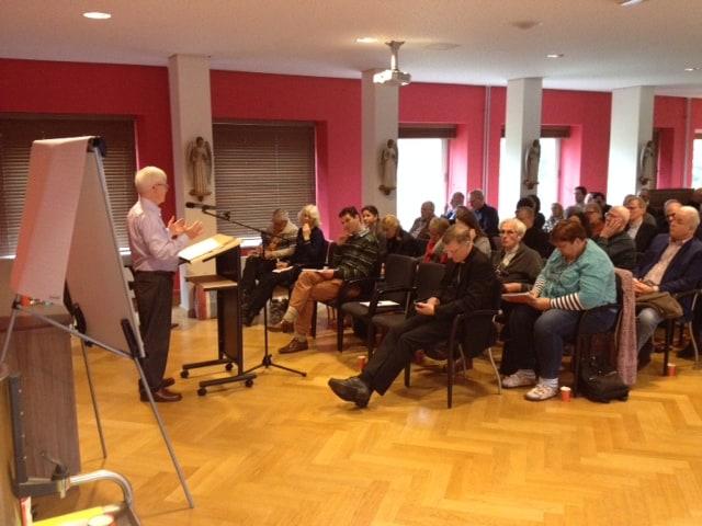 Studiedag Nieuwe Evangelisatie Dr. Ralph Martin Onze Lieve Vrouw ter Nood