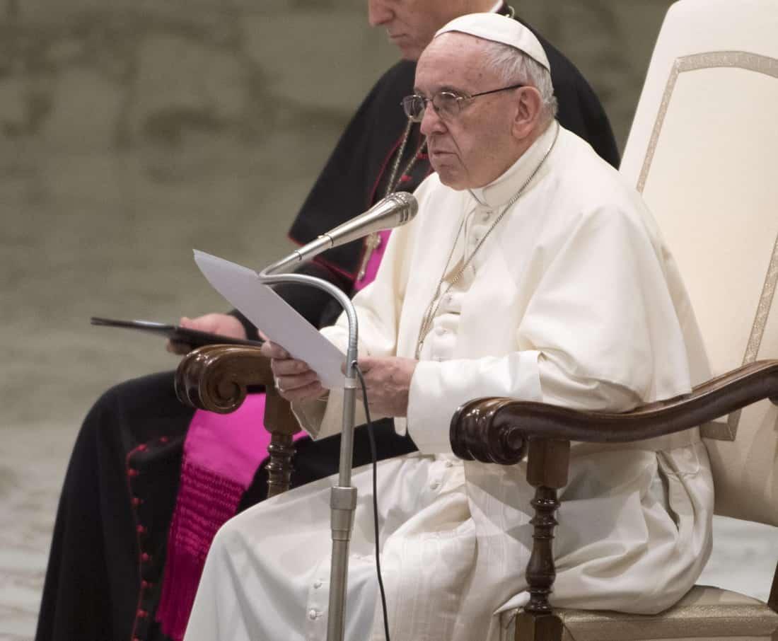 Paus Franciscus Foto: EPA-EFE
