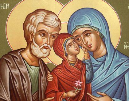 heiligen Joachin en Anna, ouders van Heilige Maria