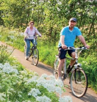 fiets- en wandelroutes