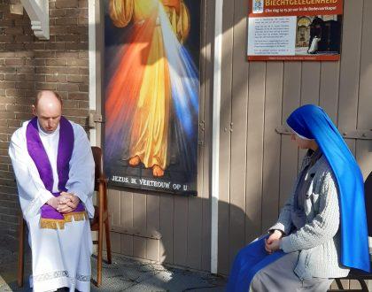 biechthoren op het heiligdom