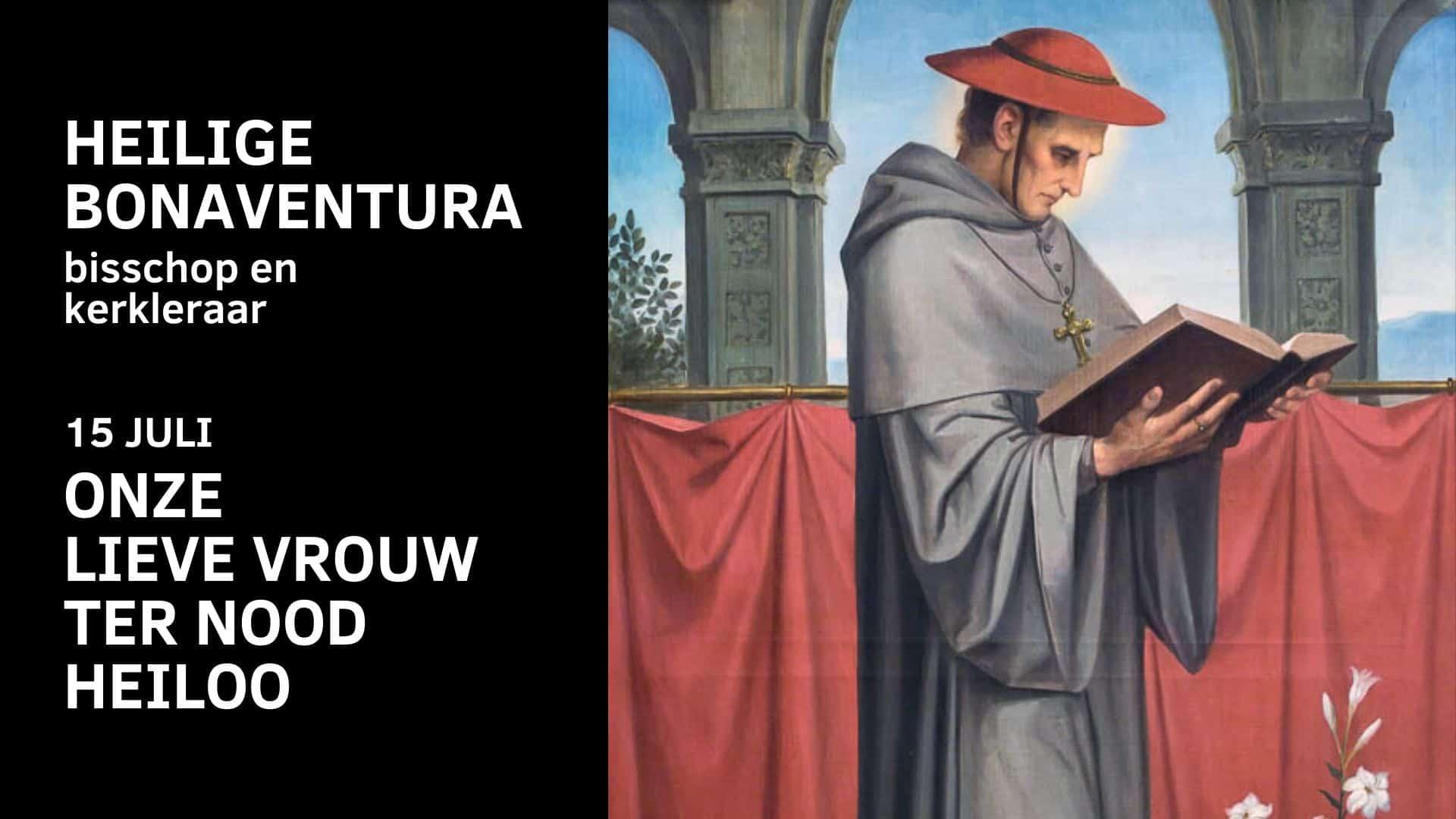 heilige-bonaventura-bisschop-olv-ter-nood-heiloo