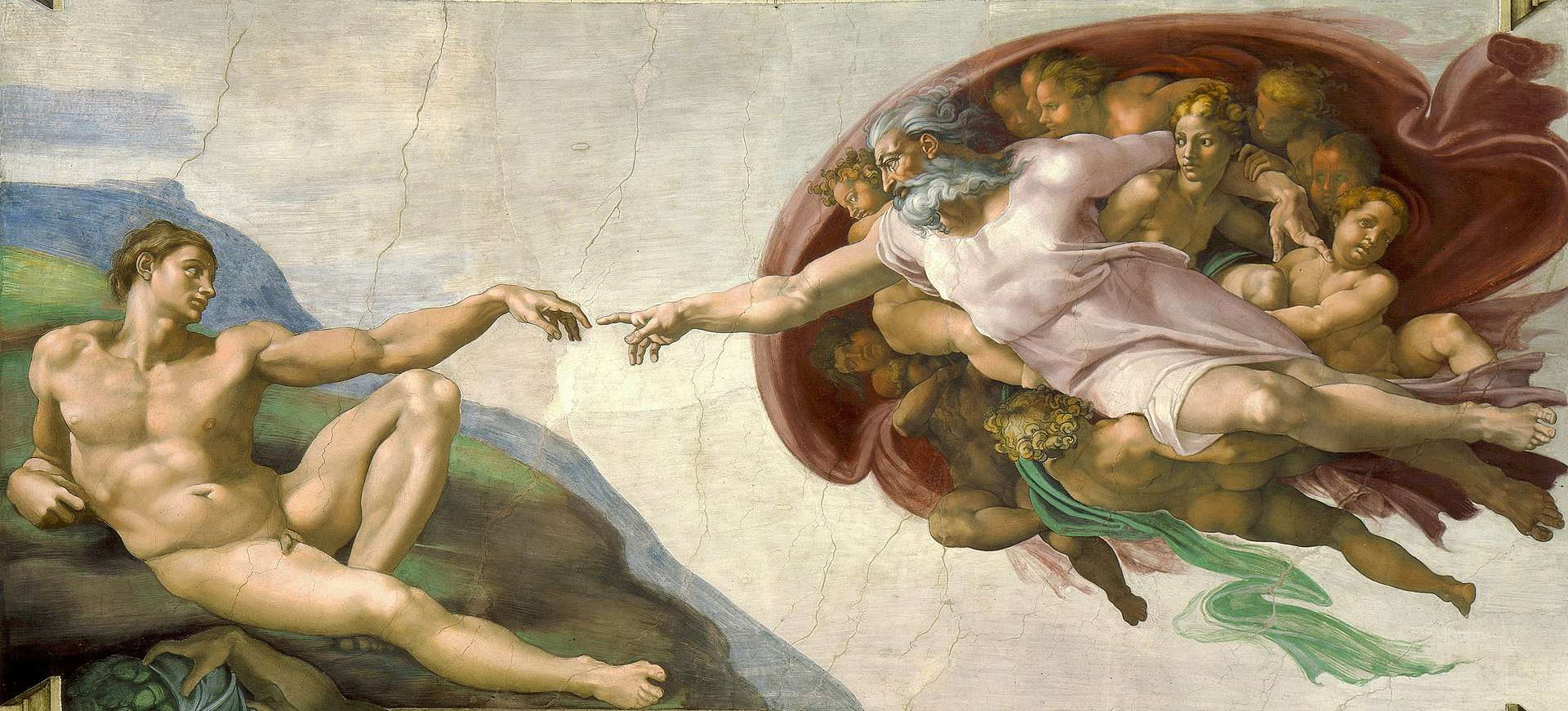 de schepping creation of adam