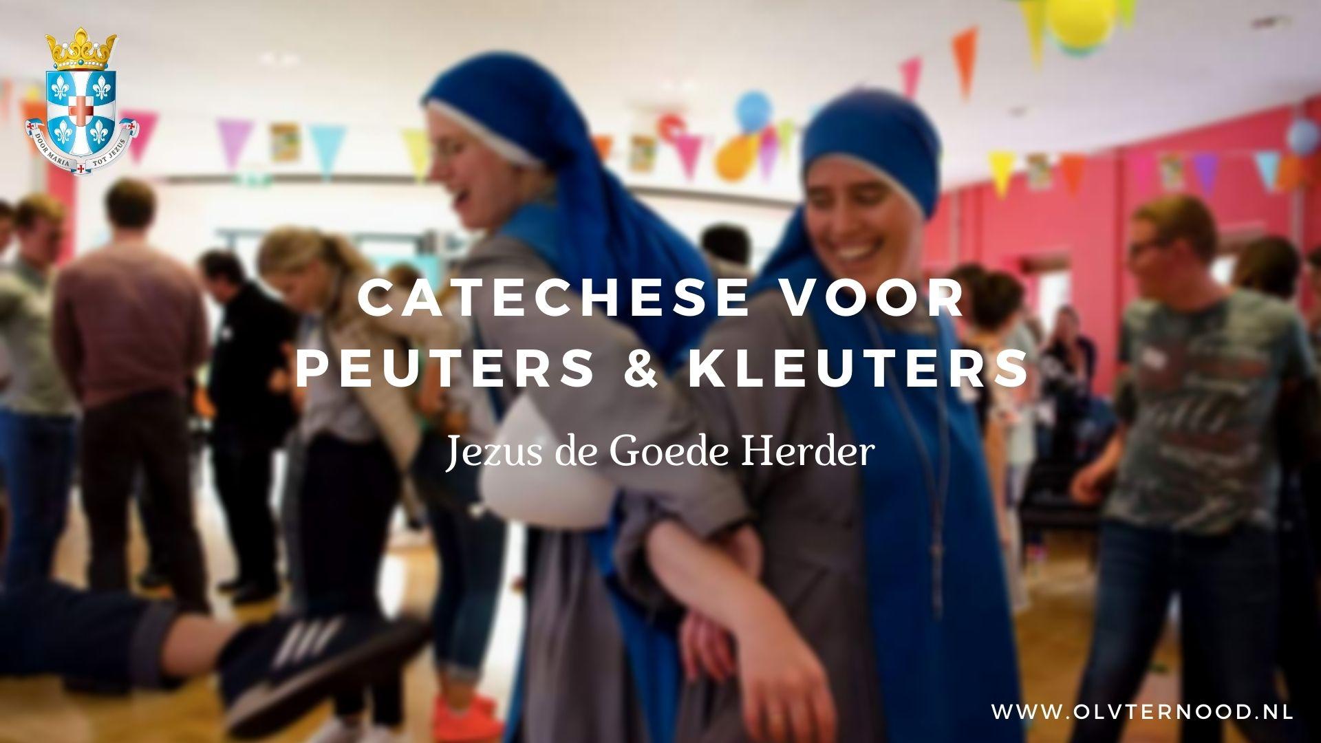 catechese peuters en kleuters jezus de goede herder