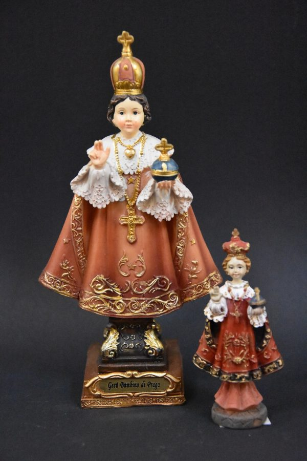 3 Kindje Jezus van Praag
