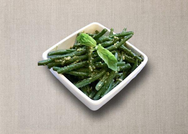 bijgerecht sperziebonen basilicum pesto olv ter nood heiloo catering
