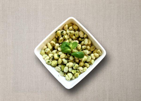 bijgerecht tuinbonen met munt en knoflook olv ter nood heiloo catering