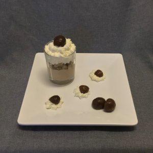 dessert luchtige kastanje creme olv ter nood heiloo catering