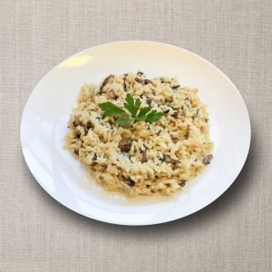 risotto funghi olv ter nood heiloo catering 01