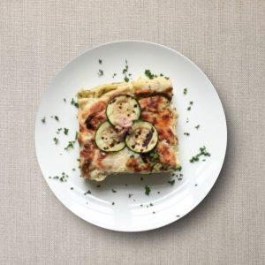 Lasagne met courgette en ham olv ter nood heiloo afhalen menu
